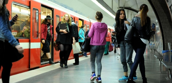 U-Bahn in Fürth vor Fahrpreiserhöhung